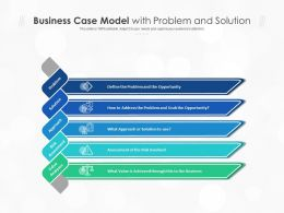 Business Case Model With Problem And Solution