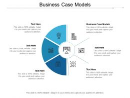 Business Case Models Ppt Powerpoint Presentation Pictures Inspiration Cpb