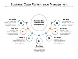 Business Case Performance Management Ppt Powerpoint Presentation Styles Tips Cpb
