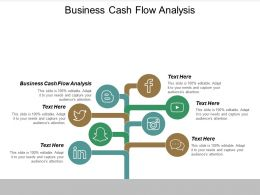 Business Cash Flow Analysis Ppt Powerpoint Presentation Outline Themes Cpb
