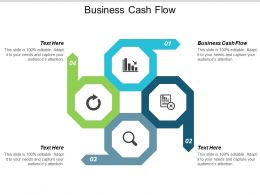 Business Cash Flow Ppt Powerpoint Presentation Gallery Microsoft Cpb