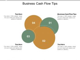 Business Cash Flow Tips Ppt Powerpoint Presentation Infographics Graphics Cpb