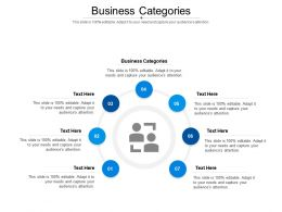 Business Categories Ppt Powerpoint Presentation Icon Template Cpb