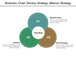Business Chain Service Strategy Alliance Strategy Strategic Goals Cpb