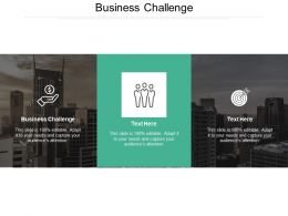 Business Challenge Ppt Powerpoint Presentation Icon Examples Cpb
