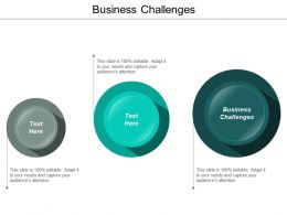 Business Challenges Ppt Powerpoint Presentation File Clipart Images Cpb