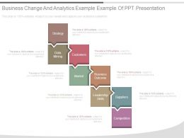 Business Change And Analytics Example Example Of Ppt Presentation