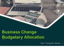 Business Change Budgetary Allocation Powerpoint Presentation Slides