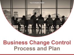Business Change Control Process And Plan Powerpoint Presentation Slides