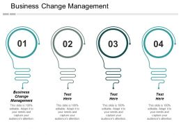 Business Change Management Ppt Powerpoint Presentation Infographics Vector Cpb