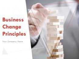 Business Change Principles Powerpoint Presentation Slides
