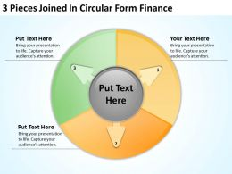 business_charts_examples_3_pieces_joined_iin_circular_form_finance_powerpoint_slides_Slide01