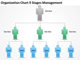 Business Charts Examples 9 Stages Management Powerpoint Templates PPT Backgrounds For Slides