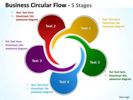 business_circular_flow_5_stages_8_Slide01