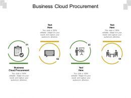 Business Cloud Procurement Ppt Powerpoint Presentation Gallery Ideas Cpb