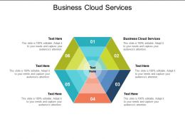 Business Cloud Services Ppt Powerpoint Presentation Icon Display Cpb