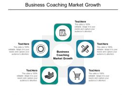 Business Coaching Market Growth Ppt Powerpoint Presentation Show Slideshow Cpb
