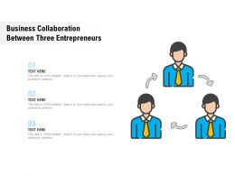 Business Collaboration Between Three Entrepreneurs