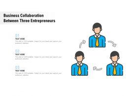 Business Collaboration Between Three Entrepreneurs