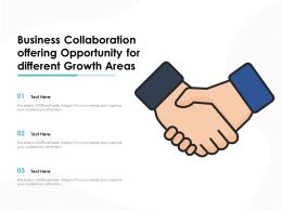 Business Collaboration Offering Opportunity For Different Growth Areas