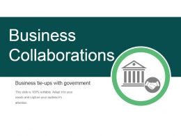 Business Collaborations Ppt Example