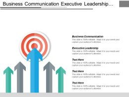 Business Communication Executive Leadership Incentives Marketing Marketing Management Cpb