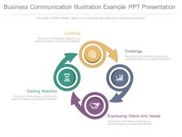 Business Communication Illustration Example Ppt Presentation