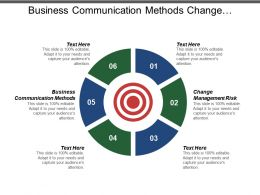 Business Communication Methods Change Management Risk Conflict Management Survey Cpb