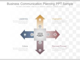 Business Communication Planning Ppt Sample