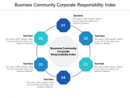 Business Community Corporate Responsibility Index Ppt Powerpoint Presentation Styles Cpb