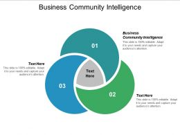 Business Community Intelligence Ppt Powerpoint Presentation Inspiration Shapes Cpb