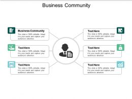 Business Community Ppt Powerpoint Presentation Slides Guide Cpb