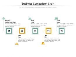 Business Comparison Chart Ppt Powerpoint Presentation File Clipart Images Cpb