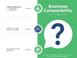Business Compatibility Powerpoint Slide Influencers