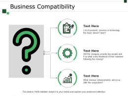 Business Compatibility Powerpoint Slides