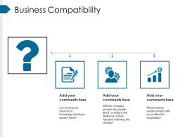 Business Compatibility Ppt Examples