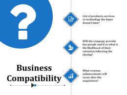 Business Compatibility Ppt Slide Templates
