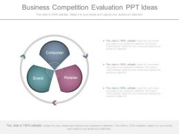 Business Competition Evaluation Ppt Ideas