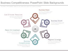Business Competitiveness Powerpoint Slide Backgrounds