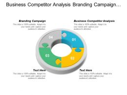 Business Competitor Analysis Branding Campaign Market Research Techniques