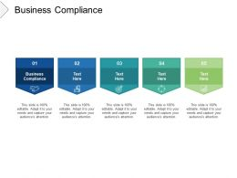 Business Compliance Ppt Powerpoint Presentation Layouts Show Cpb