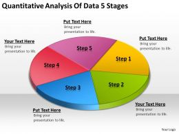 Business Concept Diagram Analysis Of Data 5 Stages Powerpoint Templates Ppt Backgrounds For Slides