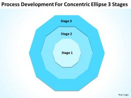 Business Concept Diagram Ellipse 3 Stages Powerpoint Templates Ppt Backgrounds For Slides