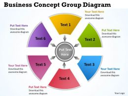 Business Concept Group Diagram 5