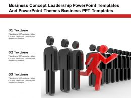 Business Concept Leadership Powerpoint Templates Themes Business PPT Templates