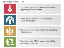 Business Conference Meeting Agenda Discussion Sharing Ppt Icons Graphics