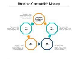Business Construction Meeting Ppt Powerpoint Presentation Gallery Format Ideas Cpb