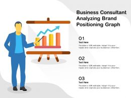 Business Consultant Analyzing Brand Positioning Graph