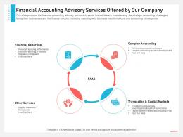 Business Consulting Financial Accounting Advisory Services Offered By Our Company Accounting Ppt File