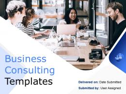 Business Consulting Templates Powerpoint Presentation Slides